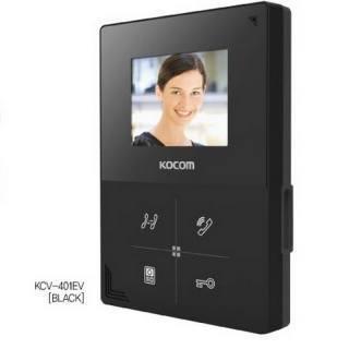 Видеодомофон KCV-401EV черный